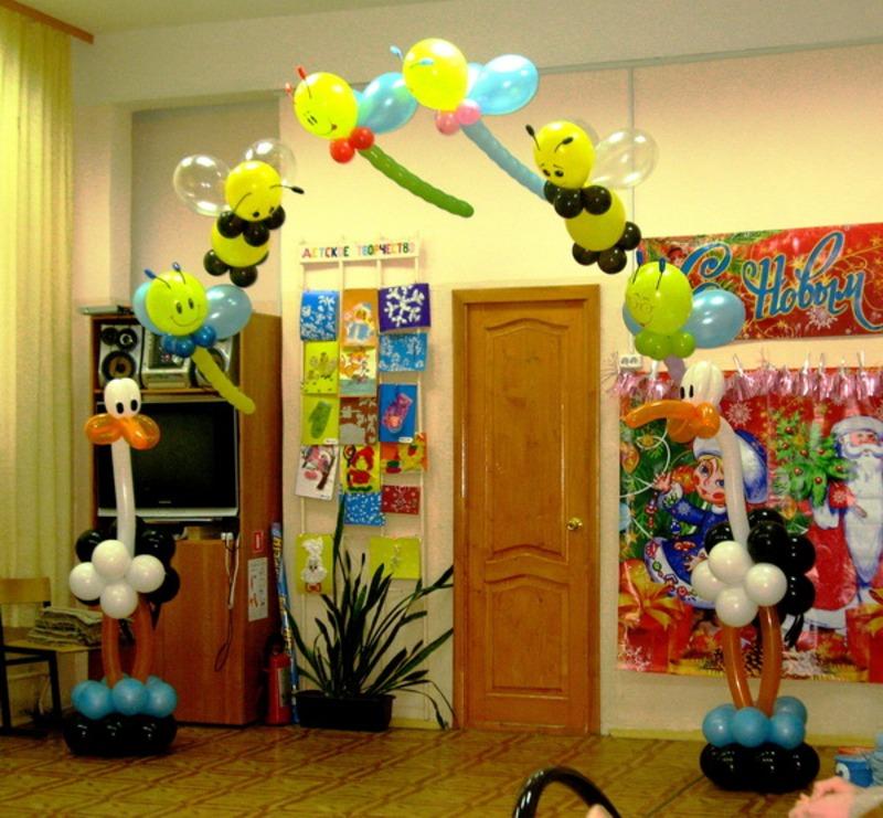 Как украсить детский зал своими руками
